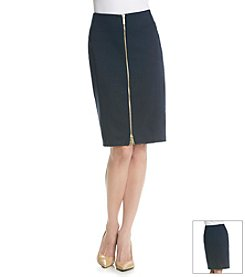 MICHAEL Michael Kors® Zip Seamed Skirt