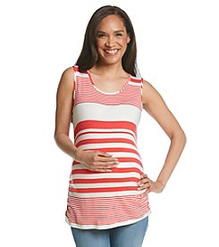 Three Seasons Maternity™ Variegated Stripe Tank