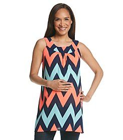Three Seasons Maternity™ Chevron Stripe Tank