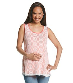 Three Seasons Maternity™ Crochet Tank