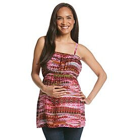 Three Seasons Maternity™ Print Camisole Top