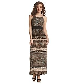 R&M Richards® Printed Maxi Dress