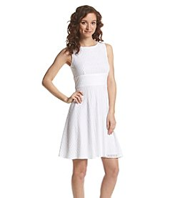 Gabby Skye® Lace Empire Fit And Flare Dress