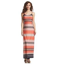 Prelude® Geo Print Chain Maxi Dress