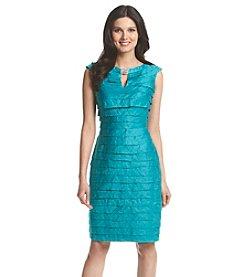 London Times® Shimmer Shutter Dress