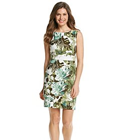 Connected® Petites' Floral Tiered Dress
