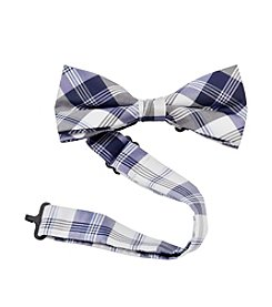 Statements Boys' Plaid Bow Tie