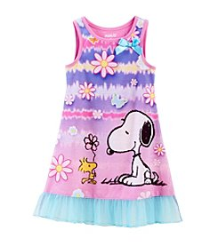 Peanuts Girls' 2T-4T Snoopy Gown
