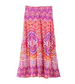 Amy Byer Girls' 7-16 Printed Maxi Skirt