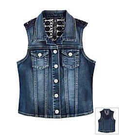 Jessica Simpson Girls' 7-16 Cortland Vest
