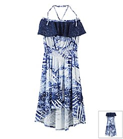 Jessica Simpson Girls' 7-16 Oliviette Maxi Dress