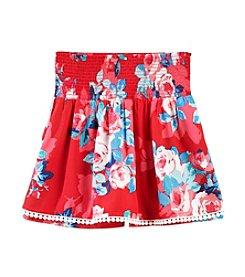 Jessica Simpson Girls' 7-16 Darcey Blossom Flip Skort