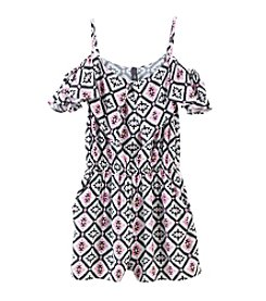 Jessica Simpson Girls' 7-16 Dillon Romper