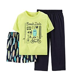 Carter's® Boys' 4-7 3-Piece Jersey & French Terry Pjs