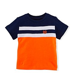 Chaps® Baby Boys' Striped Crew Neck Tee
