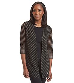 Laura Ashley® Trip Ready Chevron Cardigan