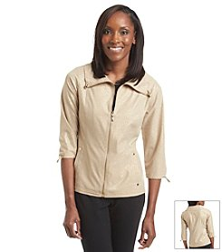 Laura Ashley® Foiled Weekend Jacket