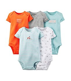 Carter's® Baby Boys' 5-Pack Short-Sleeve Bodysuits