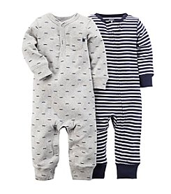 Carter's® Baby Boys' 2-Pack Jumpsuits
