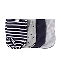 Carter's® Baby Boys 4-Pack Burp Cloth Set