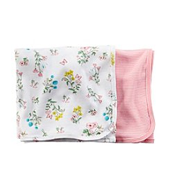 Carter's® Baby Girls' 2-Pack Blanket Set