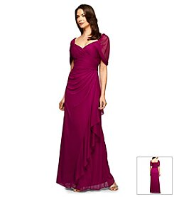 Alex Evenings® Chiffon Drape Gown