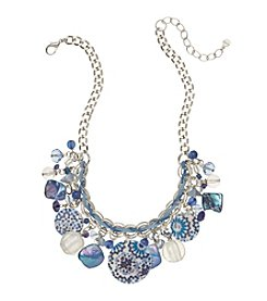 Ruby Rd.® Silvertone Statement Shaky Necklace