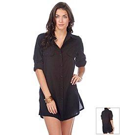 Lauren Ralph Lauren Coverup Shirt