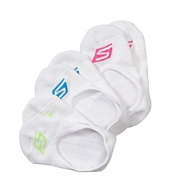 Skechers® 3-Pack Cushioned Liner Socks