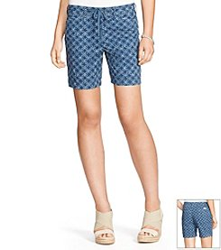 Lauren Jeans Co.® Printed Cotton Shorts