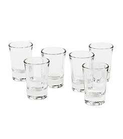 LivingQuarters Edge 6-pk. Shot Glasses