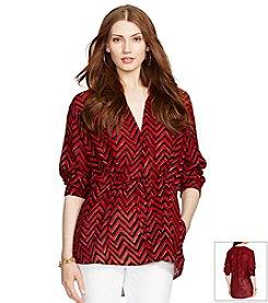 Lauren Ralph Lauren® Rolled-Cuff Tunic