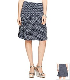 Lauren Ralph Lauren® Printed Fit-And-Flare Skirt