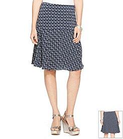 Lauren Ralph Lauren® Printed Fit-And-Flare Skirt