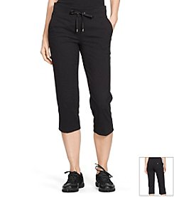 Lauren Active® Cropped Jersey Pants