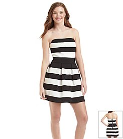 Bee Darlin' Knit Striped Bandage Dress
