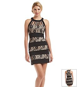 Trixxi® Lace Cage Dress
