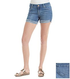 Celebrity Pink Cuffed Denim Shorts