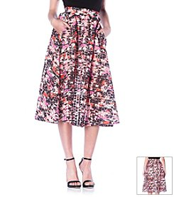 Sam Edelman™ Floral Midi Skirt