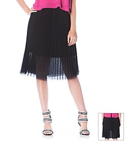 Sam Edelman™ Pleated Tulle Skirt