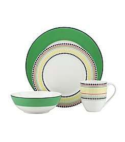 Kate Spade New York® Hopscotch Drive Green Dinnerware Collection