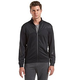 Calvin Klein Performance Men's Long Sleeve Mock-Neck Track Jacket
