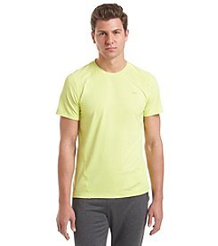 Calvin Klein Performance Men's Short Sleeve Mesh Fabric Block Tee