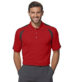 PGA TOUR® Men's Big & Tall Airflux Colorblock Polo