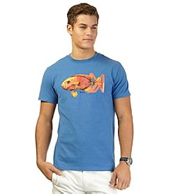 Nautica® Men's Short Sleeve Fish Crew