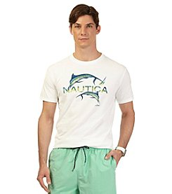Nautica® Men's Short Sleeve Marlin Crew