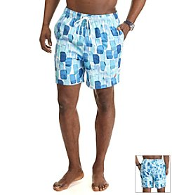 Nautica® Men's Abstract Print Trunks