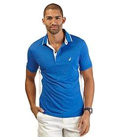 Nautica® Men's Short Sleeve Side Panel Tech Polo