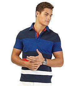 Nautica® Men's Short Sleeve Multi Media Polo