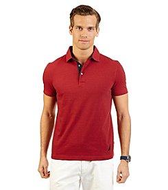Nautica® Men's Short Sleeve End On End Polo